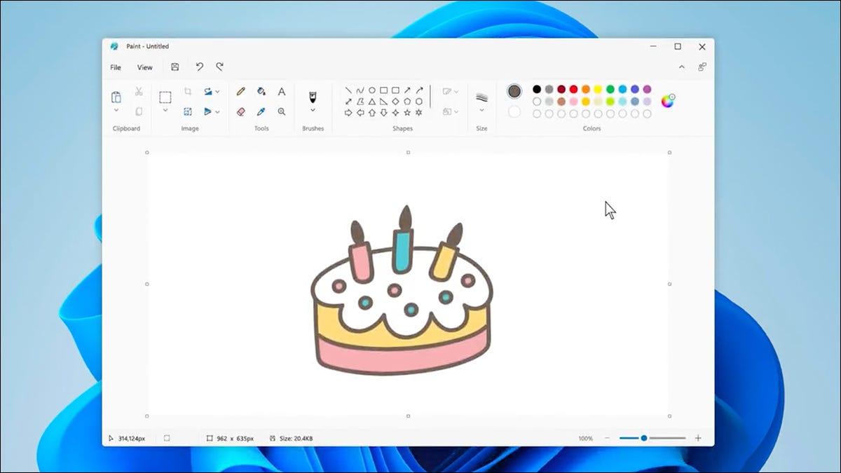 微软在 Windows 11 中用新的油漆涂层绘制油漆