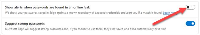 如何关闭 Microsoft Edge 泄露的密码弹出窗口