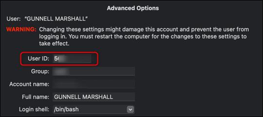 如何使用终端注销 Mac
