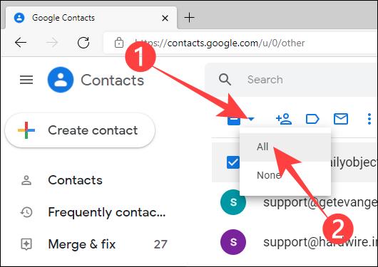 如何阻止 Gmail 自动添加联系人