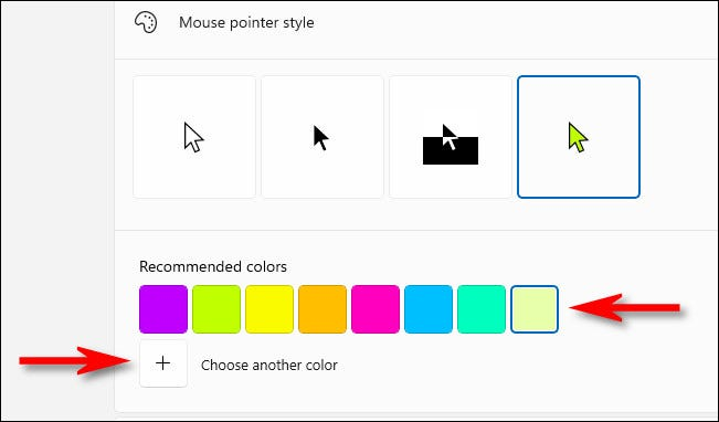 如何在 Windows 11 中更改鼠标光标颜色