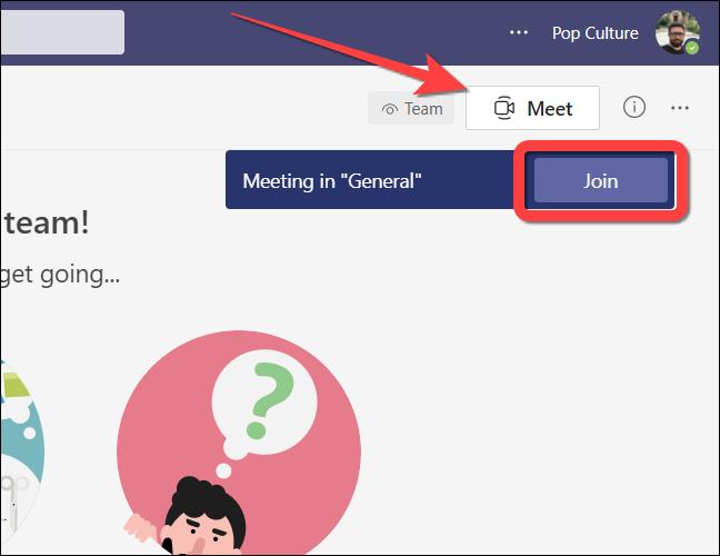 如何在 Microsoft Teams on Web 中使用一起模式