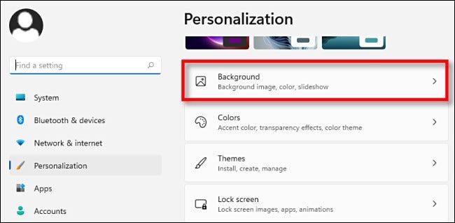 如何在 Windows 11 上更改桌面背景