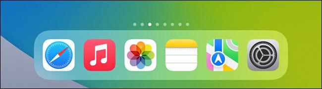 如何隐藏 iPad Dock 上的应用程序库