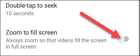 如何让 YouTube 视频始终填满您的手机屏幕