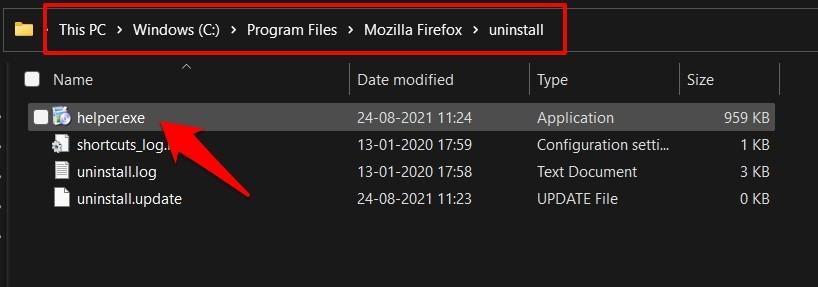 如何卸载 Mozilla Firefox 并删除存储的文件?