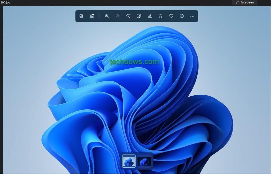 在 Windows 11 中使用 Microsoft 照片应用程序