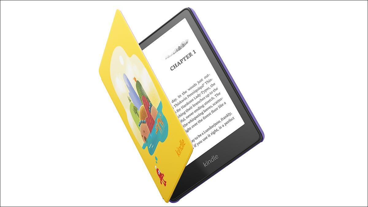 亚马逊的新 Kindle Paperwhite 阅读器非常适合孩子们