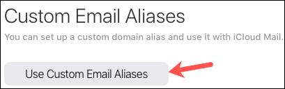 如何在 iCloud 上设置自定义电子邮件域