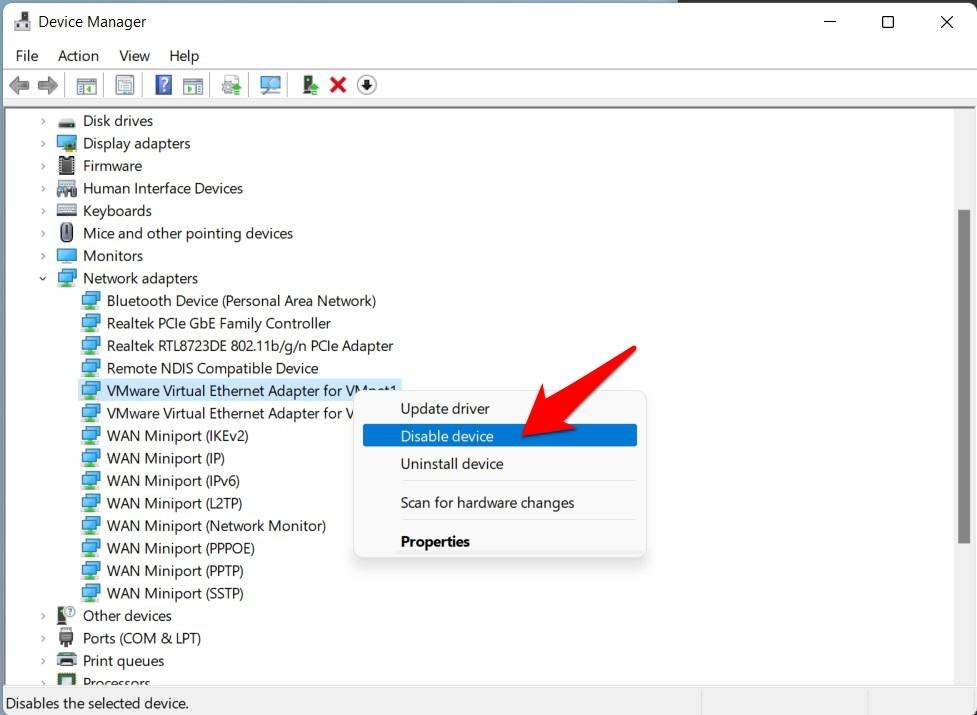如何修复以太网在 Windows 11 中不起作用?